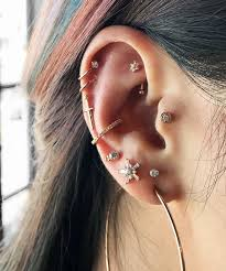conch piercing cuff cartilage piercing jewelry instagram piercings