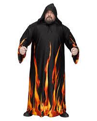 fire costume halloween fire devil robe as a halloween costume horror shop com