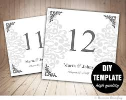 silver wedding table numbers marvelous gold table numbers dashing for wedding reception diy