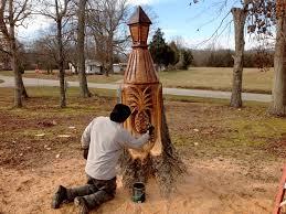 pineapple lamppost sleepy hollow art