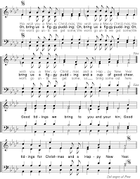 an songbook we wish you a merry