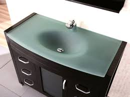 glass bathroom vanities ideas elegant glass bathroom vanities