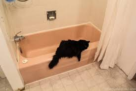 remodelaholic pink bathtub makeover