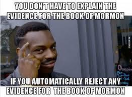 Anti Mormon Memes - meme for book of mormon critics gently hew stone