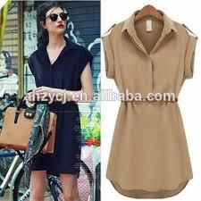 design short sleeve ladies new western trend summer chiffon
