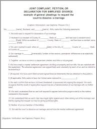 divorce forms free word templates legal divorce papers real