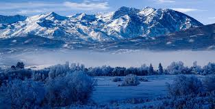 Utah mountains images Winter in ogden valley in the wasatch mountains of northern utah jpg