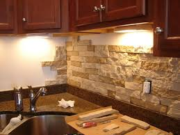 kitchen stick on backsplash kitchen design with unfinished brick peel stick