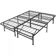 Height Of Bed Frame New Innovated Box Metal Bed Frame With 4 Brackets Bed