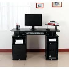 grand bureau pas cher grand bureau noir bureau grand bureau dangle noir thecrimson co