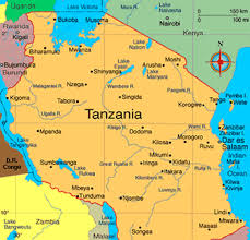 Production Map Gem Quality Mining Countries Gem Mining In Tanzania