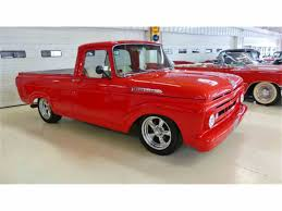 Old Ford Unibody Truck - 1960 to 1962 ford f100 for sale on classiccars com 18 available