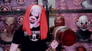 sinister the clown silicone mask by shattered fx youtube