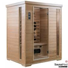 northern lights sauna parts saunamed 3 person classic hemlock far infrared sauna emr neutral fir