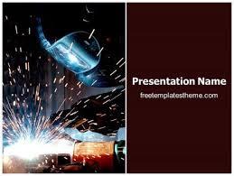 Welding Templates Free free welding powerpoint template freetemplatestheme