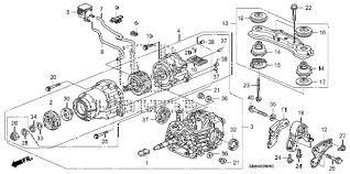 rear differential honda crv honda store 2008 crv rear differential mount parts