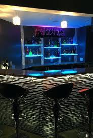 led lighted bar shelves lighted bar shelves medium size of premier bar lighting ideas home