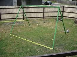 Diy Backyard Swing Set Swingset Chicken Coop Chicken Coop Ideas
