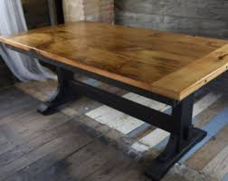 Reclaimed Wood Buffet Table by Reclaimed Wood Rustic Buffet Farmhouse Buffet Table Entryway