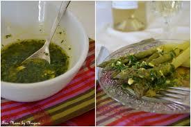 cuisiner asperges vertes fraiches asperges vertes vinaigrette aux herbes fraîches fées mains by