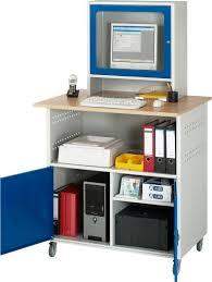 Computer Schreibtisch Buche Pc Möbel Computer Tisch Mobil