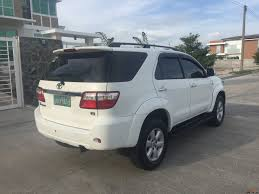 fortuner toyota fortuner 2009 car for sale pampanga tsikot com 1