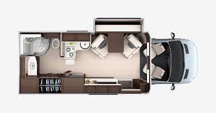 Sprinter 5th Wheel Floor Plans Unity Floorplans Leisure Travel Vans