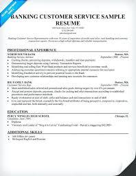 resume for customer service representative in bank customer service representative resume 2017 online resume