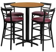 Commercial Bar Tables by Home Allegheny Refrigeration
