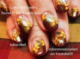 nail design for thanksgiving robin moses nail art nail art cute fall pumpkins