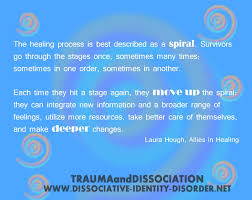 quote by hough the healing process is best described as a