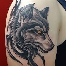 40 tribal wolf tattoo design ideas 2018