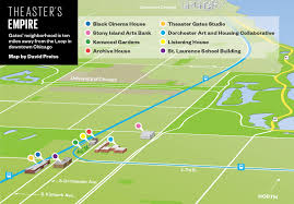 Map Downtown Chicago How Theaster Gates Is Revitalizing Chicago U0027s South Side One