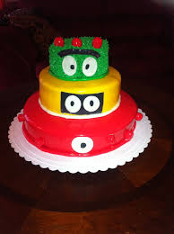 yo gabba gabba birthday cake3d cards 30 best cakes images on corset cake bridal