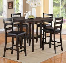 black counter height table set top 87 divine counter height kitchen table sets high black 5 piece