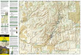 amazon com zion national park national geographic trails
