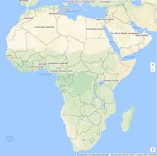 Africa Country Map The Digital Divide Software Developers In Africa Through Github