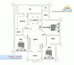Single Storey Four Bedroom House Plan Home Design Extraordinary 4 Bedroom House Plans Single Story A