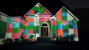 charter communications house projection mapping
