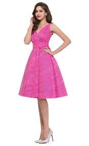 cheap housewife vintage 50 u0027s 1960 u0027s dress polka dot swing party