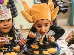 immigrant sf students munch on early thanksgiving feast by