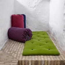 Matelas D Appoint Futon Matelas Futon D Appoint Vert Lime Bed In A Bag Couchage 70 190 5cm