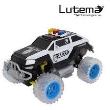 remote control monster jam trucks lutema police suv 4ch remote control truck black u0026 white ebay