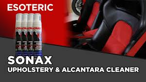 Upholstery Cleaning Products Reviews Sonax Upholstery And Alcantara Cleaner Review Esoteric Car Care