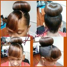 black hairstyles bun with bangs mommy loved this look bun bangs since the 70 s black