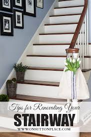 refinished staircase staircases spaces and stairways