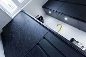 schwarz das neue weiß exklusive schwarz matt küche mit osb