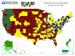 usps class shipping map how rationalization speeds up standard mail and hastens