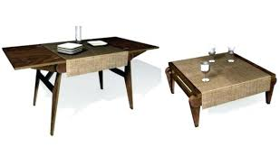 adjustable height end table coffee table dining table coffee table dining table convertible