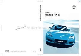 manual de instrucciones mazda rx 8 coche descargar en formato pdf
